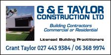 G & E Taylor Construction
